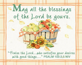 May All The Blessings Of The Lord